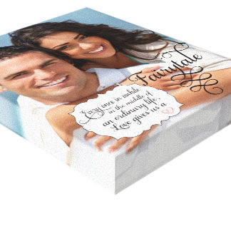 Your Photo Wrapped Canvas Fairytale Canvas Prints