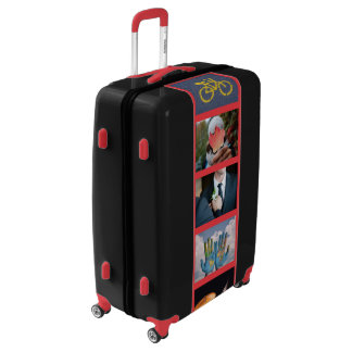 YOUR PHOTOS custom color luggage