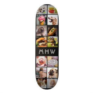 YOUR PHOTOS & MONOGRAM skateboards
