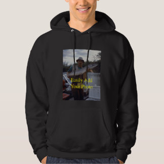 Your Record Fish Photo Hoodie