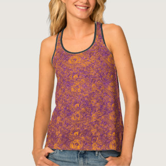 Your Royal Paisley Eyes by MJ Tank Top