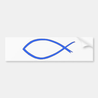Your Scripture Here - Blue Bumper Stickers