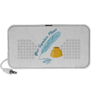 Your Signature Notebook Speakers