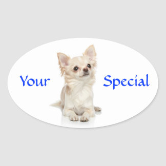 Your Special Haired Chihuahua  Sticker