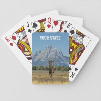 Your State Buck Deer Poker Deck