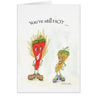 Your still Hot Birthday Peppers Card
