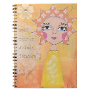 Your talent shines through notebooks