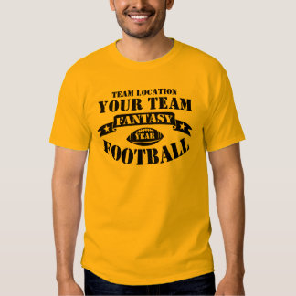 YOUR TEAM FANTASY FOOTBALL BALL YEAR SHIRT