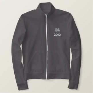 """""""Your Team Here"""" customize-able  Embroidery Jackets"""