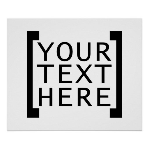 your text here funny advertise humor joke computer print
