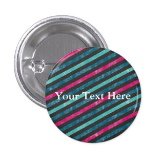 Your Text Here Template Small, Inch Round Button