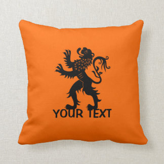 Your Text - Holland Lion Cushion