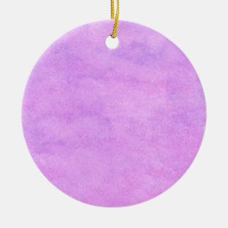your text pink purple back ground round ceramic decoration