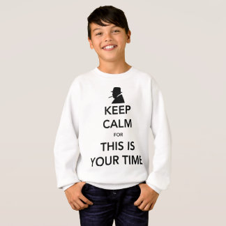 Your Time Boy's Sweatshirt