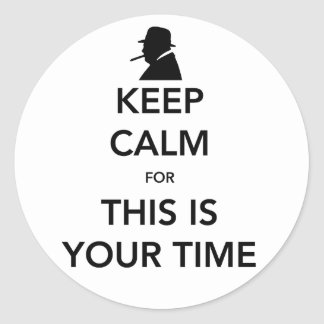 Your Time Sticker