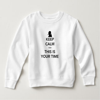 Your Time Toddler Sweatshirt