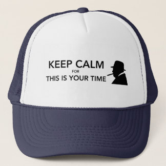 Your Time Trucker Hat