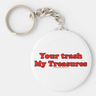 Your Trash My Treasures Key Ring
