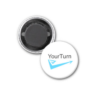 Your turn 3 cm round magnet