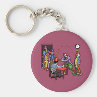 Your Typical Day Job Basic Round Button Key Ring