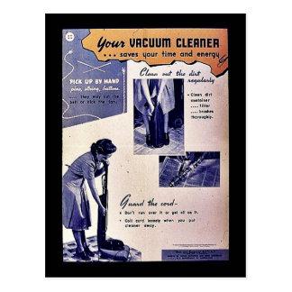 Your Vacuum Cleaner Postcard
