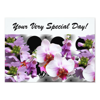 Your Very Special Day! 13 Cm X 18 Cm Invitation Card