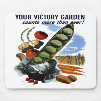 """Your Victory Garden"" Mousepad"