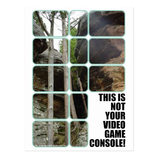 Your Video Game Console Postcard