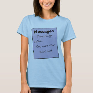Your Village Called Women's T-Shirt