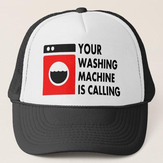 Your Washing Machine is Calling Trucker Hat