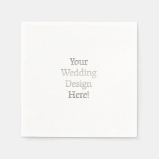 Your Wedding Design Paper Napkin