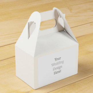 Your Wedding Design Party Favour Box