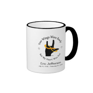 Your Wings Were Ready 11oz Ringed Coffee Mug