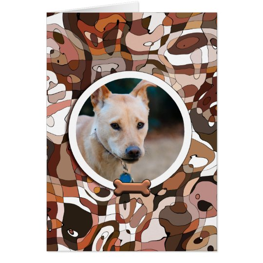YOUR Wonder Dog Custom Photo Card