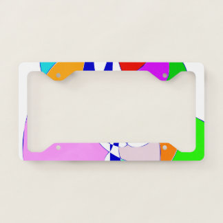 Your World 2 Licence Plate Frame