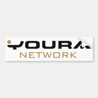 Youra Network Icons Bumper Stickers