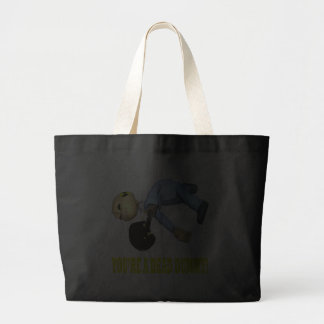 Youre A Dead Dummy Canvas Bags
