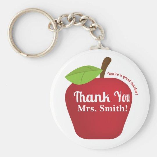 You're a great teacher! Teacher appreciation apple Basic