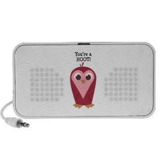Youre a Hoot Travelling Speakers