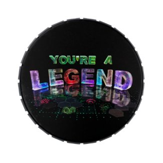 You're a Legend Jelly Belly Tin