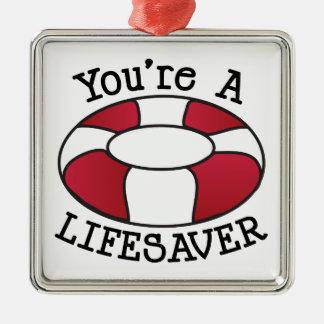 You're A Lifesaver Christmas Ornament