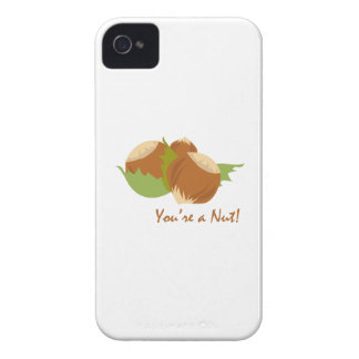 Youre A Nut iPhone 4 Cases