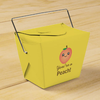 You're a Peach Sweet Kawaii Cute Funny Foodie Favour Box