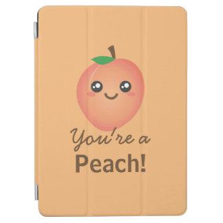 You're a Peach Sweet Kawaii Cute Funny Foodie iPad Air Cover