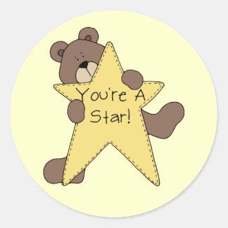 You're A Star Bear Sticker