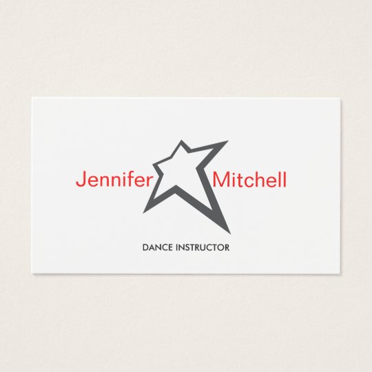 YOU'RE A STAR Business Card