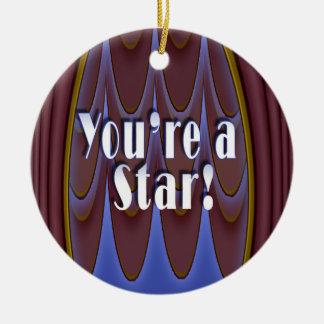 You're a Star! Christmas Ornament