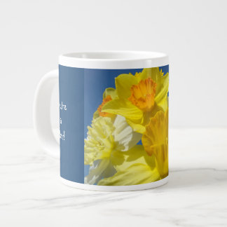 You're a Star! Jumbo Mug Daffodils Bright Bold