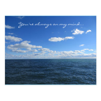 You're Always On My Mind Postcard