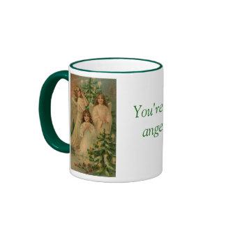 You're An Angel Ringer Mug